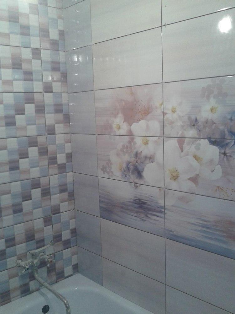 Акварель плитка уралкерамика фото в интерьере